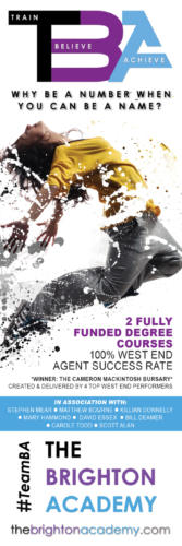 The Brighton Academy - Magazine Display Advert Production