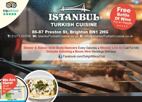 Istanbul Turkish Restaurant - Magazine Display Advertising