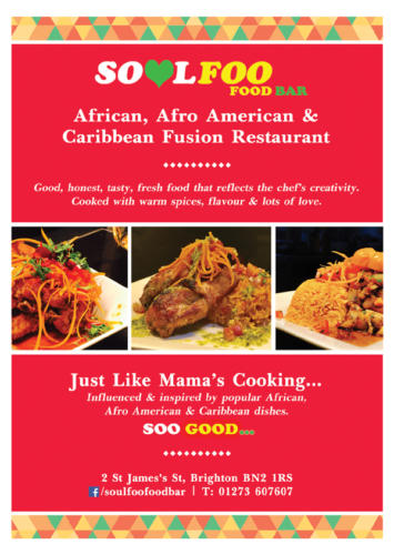 Soulfoo Eatery Brighton - Magazine Display Advertising