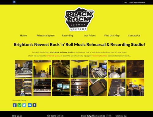 Black Rock Subway Music Studios - Website