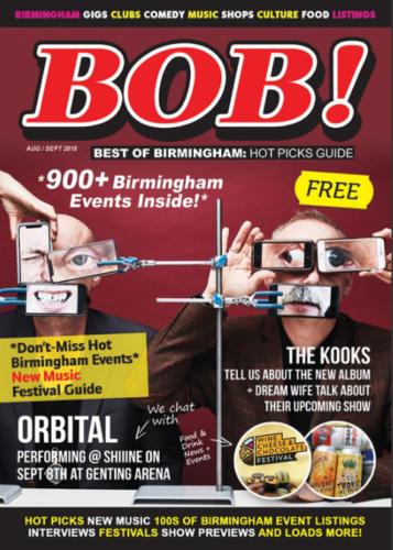 Best Of Birmingham Magazine - Magazine Front Cover Production