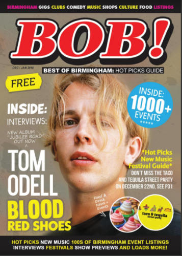 Birmingham's BOB Magazine - Magazine Front Cover Production