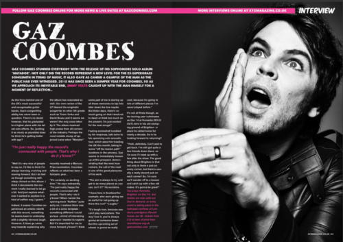 Brighton's XYZ Magazine - Magazine Page Production