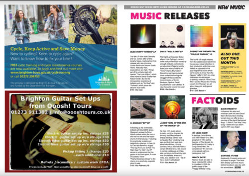 Brighton's XYZ Magazine - Magazine Production