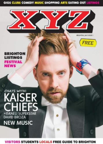 Brighton's XYZ Magazine - Magazine Front Cover Production