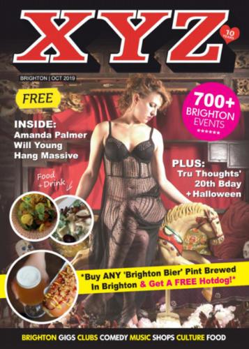 XYZ Brighton Magazine - Magazine Front Cover Production